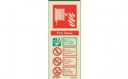 6365M/R - FIRE HOSE EXTINGUISHER IDENTIFICATION SIGN